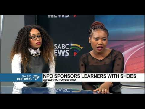 NPO MOPPY sponsors learners with shoes