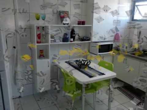 Decorando minha casa com By FJ - Projeto armario cozinha