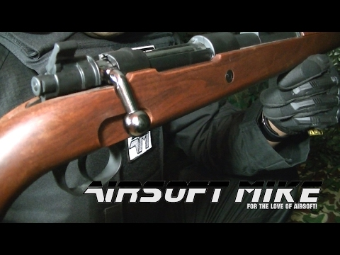 D-BOYS KAR98K SHELL EJECTING BOLT ACTION / Call Of Duty WW2 / Mauser Kar98k AIRSOFT