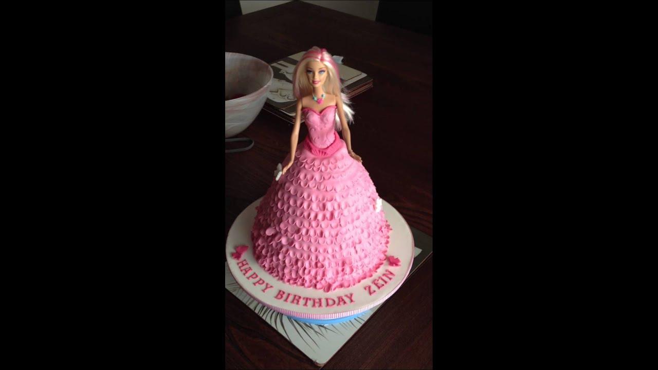 Doll Cake Buttercream Dolly Varden Doll Cake