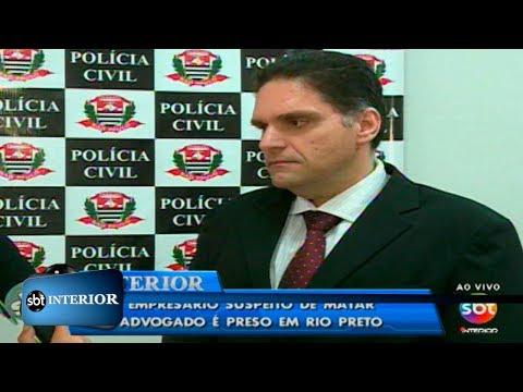 Empresário suspeito de matar advogado é preso em Rio Preto