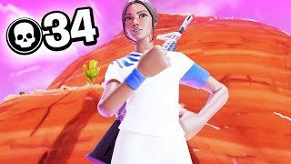34 Kill Solo Squads On Controller | Season 8 Fortnite
