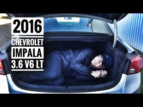 2016 Chev Impala LT V6 Road Test & Review | Pye Chev Buick GMC Truro NS