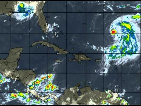Después de las tormentas tropicales Kirk y Leslie, se detecta la depresión tropical número 1