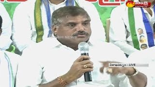 Botsa Satyanarayana slams Chandrababu Naidu for ignoring the issues of the people in the state