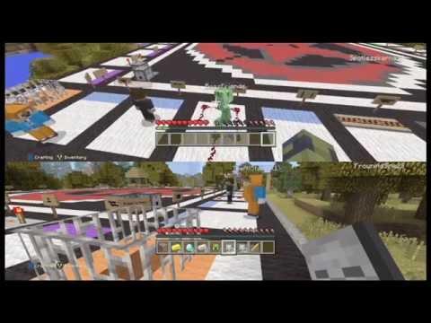 Minecraft LETS PLAY MONOPOLY ACHIEVEMENT CITY!!! Part 1