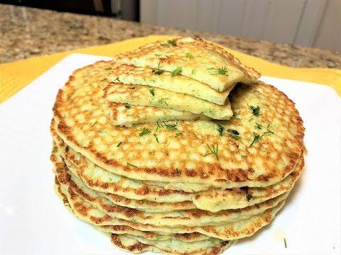 БЛИНЫ  а-ля Хачапури. Самый Вкусный Завтрак для  Любителей Сыыыыыра. Cheese Pancakes.