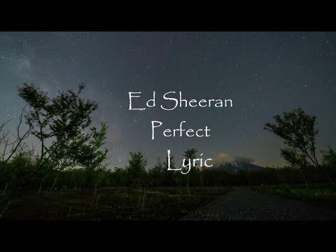 Ed Sheeran - Perfect ( Minus One Lyric )