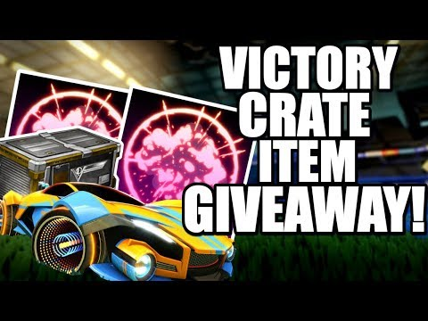 FREE Victory Crate Items! | Black Market / New Car + MORE (Rocket League Giveaway)