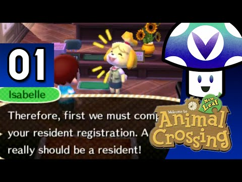 [VineClassics] Vinny - Animal Crossing: New Leaf (part 1) + Art!