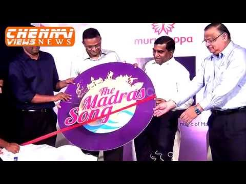 Murugappa Group launched The Madras Song in Chennai