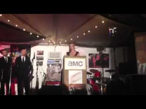 Anna Gunn Breaking Bad Wrap Party Farewell Speech