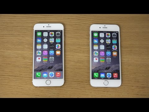 iPhone 6 iOS 8.1.1 Beta vs. iPhone 6 iOS 8.1 Jailbroken - Which Is Faster? (4K)