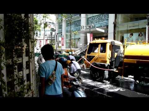 ラーチャプラソン交差点(23-May-2010) – Ratchaprasong, Bangkok,Thailand