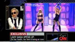 Lady Gaga talks about Madonna