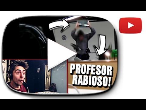 PROFESOR RABIOSO ROMPE ORDENADOR! | Especial Reacción