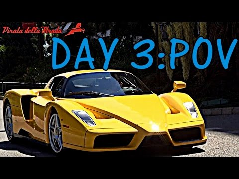 Monaco Supercar Tour: Day 3 POV!