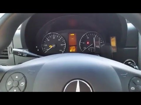 How To Reset Oil Indicator Light Mercedes Sprinter and Save Money Custom RV