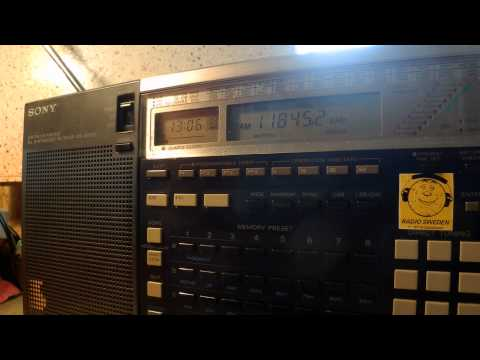 20 07 2015 All India Radio in Chinese to EaAs 1305 on new 11845 Delhi, ex 11855