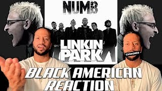 BLACK AMERICAN FIRST TIME HEARING | Linking Park - Numb!!!!