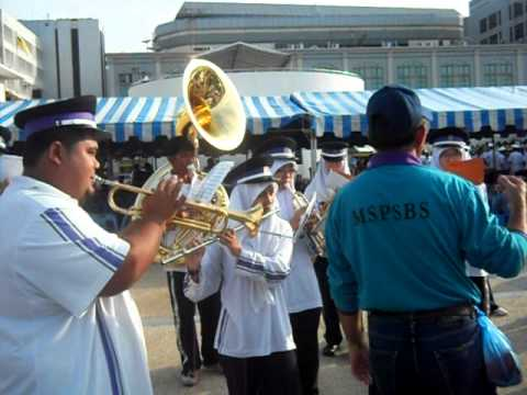 Brunei PSBS Science College Marching Band: BIFR City Parade Full Rehearsal