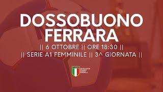 Serie A1F [3^ giornata]: Dossobuono - Ferrara 26-27