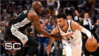 NBA Film Breakdown: Spurs' defense sparks Nuggets, Jamal Murray's comeback | SportsCenter
