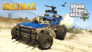 GTA 5 PC Mods - MAD MAX MOD w/ EPIC VEHICLE MODS! GTA 5 Mad Max Mod Gameplay! (GTA 5 Mod Gameplay)