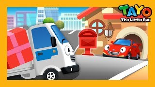 Delivery truck l Job Game #8 l Learn Street Vehicles l Tayo the Little Bus