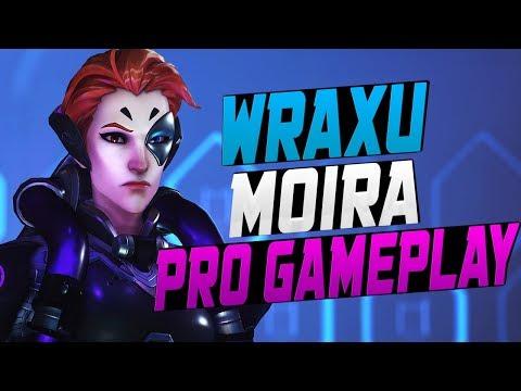 WRAXU PRO MOIRA! HE'S INSANE! [ OVERWATCH SEASON 7 TOP 500 ]