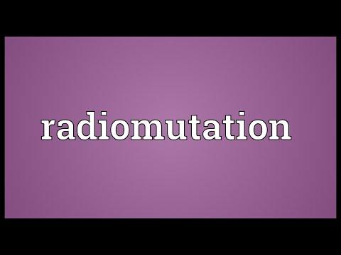 Header of radiomutation