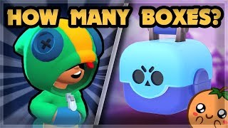 How Many Brawl Boxes To Unlock Legendary Leon? | Supercell Swag Bag 🍊