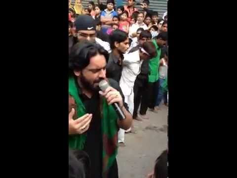Akbar Tumhe Maloom Hai Kya Mang Rahe Ho Live Nauha Sahibealam Muharram 1436 video