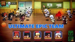 ULTIMATE OVERPOWERED TEAM! Ninja Heroes Storm Battle
