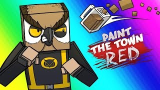 Paint the Town Red Funny Moments  Vanoss  Deliriouss Bar