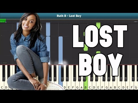 Lost Boy Piano Tutorial - Free Sheet Music (Ruth B)