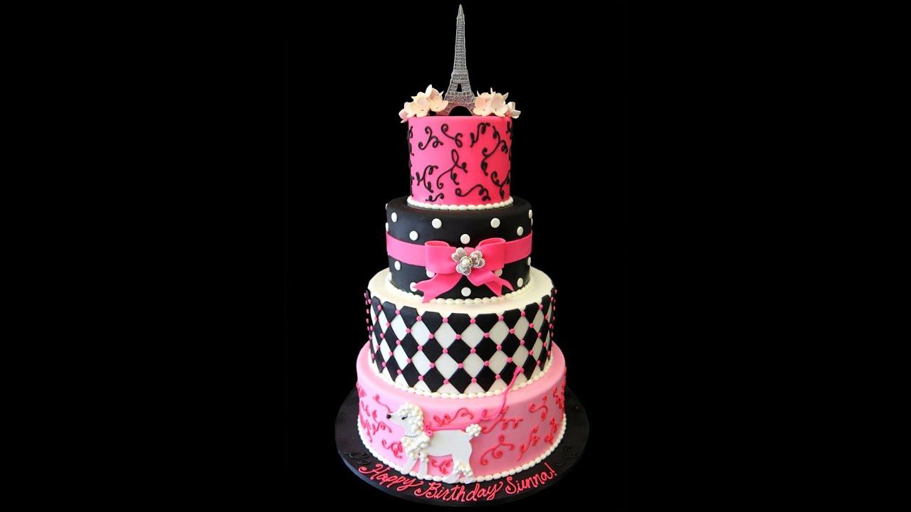 Paris Bakery Wedding Cakes