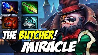 MIRACLE PUDGE [TRUE BUTCHER] Highlights Dota 2