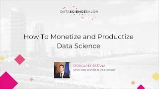 Douglas Pestana - Data Science Salon Miami
