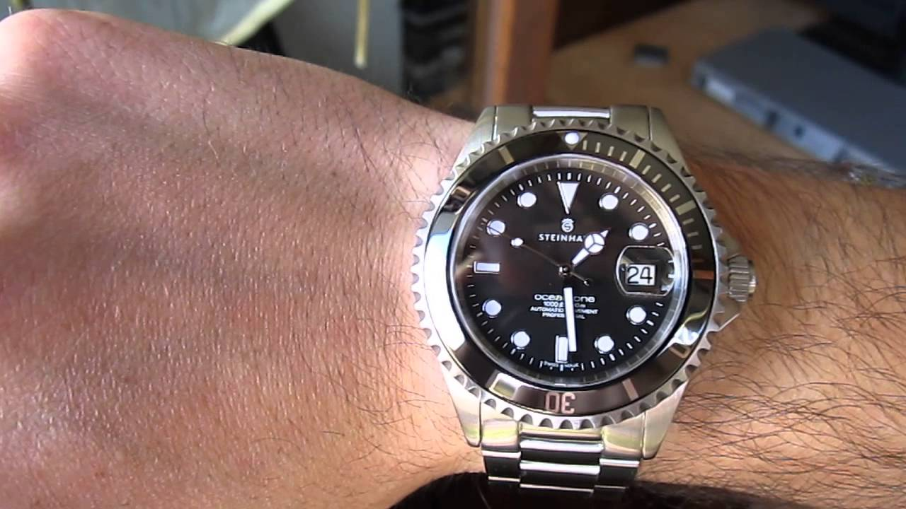 Steinhart Ocean One Ceramic Bezel Youtube