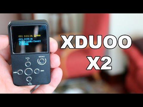 XDUOO X2, uno de los mejores reproductores MP3 calidad/precio