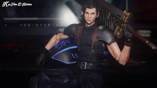 Unboxing - Crisis Core Final Fantasy VII - Zack Fair - Play Arts Kai