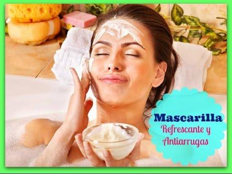 Mascarillas refrescante antienvejecimiento y elimina manchas / Alicia Borchardt