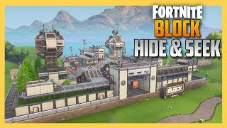 Block Prison Complex Hide and Seek in Fortnite! | Swiftor