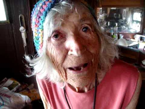 Amazing 100 Year Old Woman: SECRET OF LONGEVITY! Amazing Peggy!