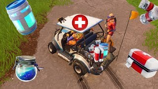 AMBULANCE CHALLENGE IN FORTNITE!