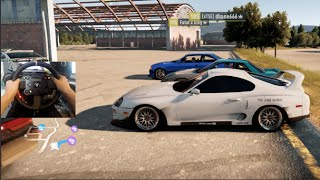 FH2 GoPro TRD Supra 1400+HP 2JZ! Drift Build #FastandFurious | SLAPTrain