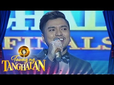 Tawag ng Tanghalan: Jex De Castro | Lead Me Lord (Round 6 Semifinals)