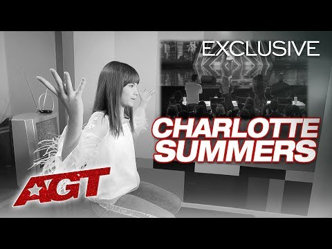 Singer Charlotte Summers Tells Us Why AGT Is A Dream Come True! - America's Got Talent 2019