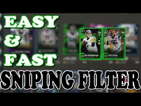 EASY Sniping 100k per hour | Mut 18 Sniping | Madden 18 How to Make Coins | Madden 18 Sniping Tips